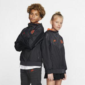 Nike Veste tissée Chelsea FC Windrunner pour Enfant plus âgé - Noir - Taille S - Unisex