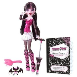 Mattel Monster High Draculaura et son journal intime