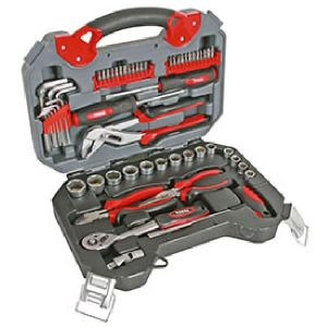 Perel HSETPRO2 - Jeu d'outils haute qualité 56 pièces