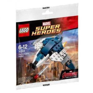 Lego 30304 - Super Heroes : Marvel Comics - Le quinjet des Avengers
