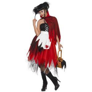Déguisement Petit chaperon rouge Halloween (taille S, M ou L)