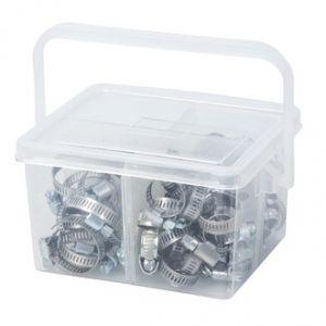 Ribimex PRCOLMIX80 - Colliers de serrage acier 8-12 à 12-22