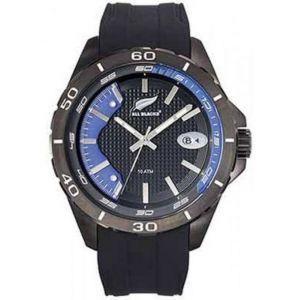 All Blacks 680285 - Montre pour homme avec bracelet en acier