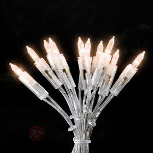 Konstsmide 6303-103 - Mini-guirlande lumineuse blanche chaude 50 LED