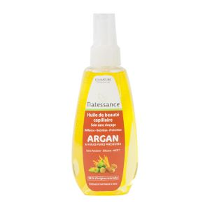 Natessance Argan - Huile de beauté capillaire sans rincage