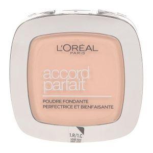 L'Oréal Accord parfait - Poudre fondante uniforme Ivory rose