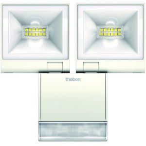 Theben Projecteur LED Double avec Detecteur theLeda 2x10W BLANC /