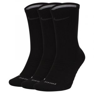 Nike Chaussettes de training mi-mollet Pro Everyday Max Cushioned (3 paires) - Noir - Taille S - Unisex