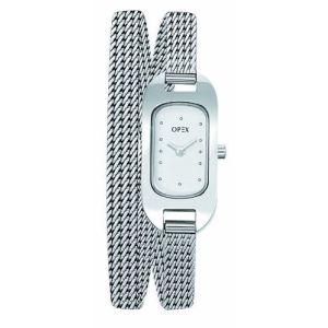 OPEX Paris X0391MA1 - Montre pour femme avec bracelet en acier Ballerine