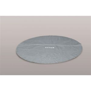 Intex Bâche à bulles pour piscine ronde Modèle - Piscine diamètre 4,88m gris renforcé