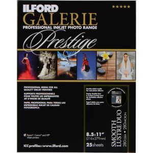 Ilford Galerie PrestigeDuo SemiGloss A4 - 250g - 25F