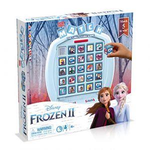 Winning Moves Jeu de société Match Disney Frozen La Reine des Neiges 2
