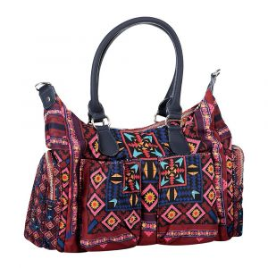 Desigual Sac à main ARTY ATARI LONDON rouge - Taille Unique