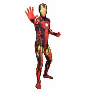 Déguisement Morphsuits Iron Man classique adulte