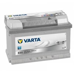 Varta Batterie E38 Silver Dynamic 74 Ah - 750 A