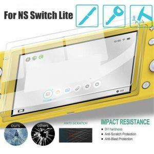 Straße Game Protection Écran En Verre Trempé + Lingette Micro Fibre Pour Nintendo Switch Lite