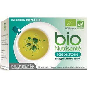Nutrisanté Infusion bio respiratoire - Boîte de 20 sachets
