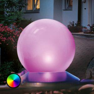 Esotec Boule lumineuse solaire avec changement de couleurs