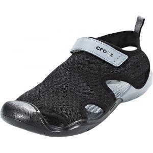 Crocs Women´s Swiftwater Mesh Sandal - Sandales de marche taille W5, noir