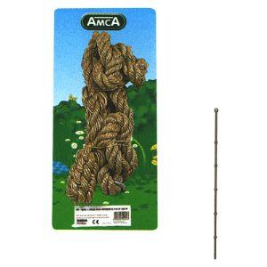 Amca 521 - Corde à noeuds pour portique 3,00 / 3,50 m