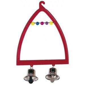 Ferplast Balançoire plastique avec clochettes pour oiseaux