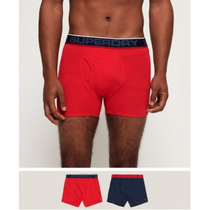 Superdry Boxer tipped sport boxer double pack red l