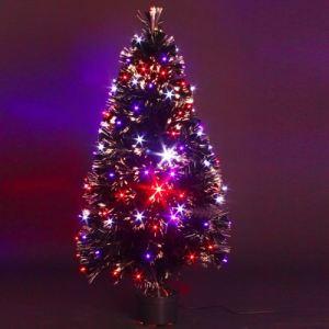 Barnaby - Sapin de Noël en fibre optique (90 cm)