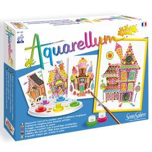 Sentosphère Aquarellum junior : Maisons gourmandes