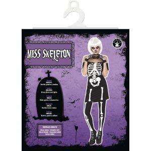 Rubie's Déguisement Adulte - Miss Squelette - Taille Unique