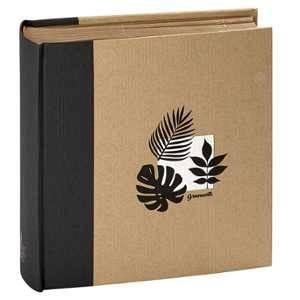 Panodia Album relié à pochettes - Greenhearth - 11,5x15 cm - noir - 200 vues