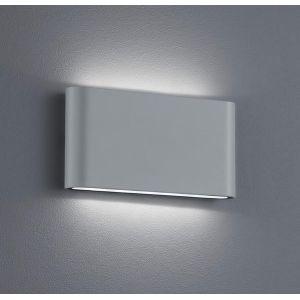 Trio 227660287 - Applique extérieure bidirectionnelle gris en fonte d'aluminium