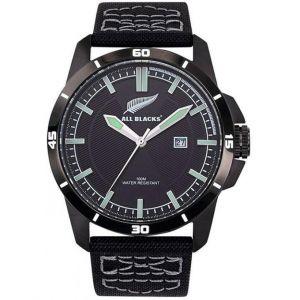 All Blacks : Montre Montre 680455 - Montre Nylon Noir Homme