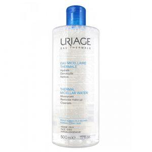 Uriage Eau micellaire thermale peaux normales à sèches - 500 ml