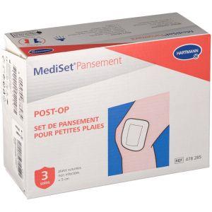 Hartmann Mediset - Pansement post-op petites plaies 3 soins
