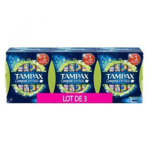 Tampax Compak Pearl - 54 Tampons - Super