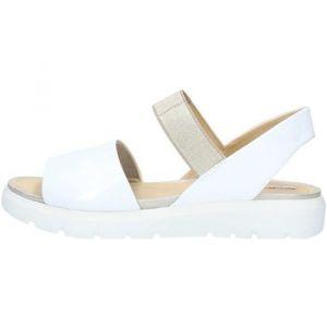 Geox Sandales D827WFHEBC Sandali Femme Blanc