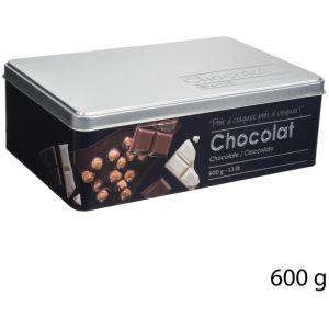"""Boîte à Chocolat """"""""Relief II"""""""" 20cm Noir"""""""