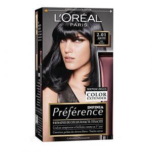 L'Oréal Préférence Infinia Brunes / Noires 2.01 Ajaccio - Noir Profond