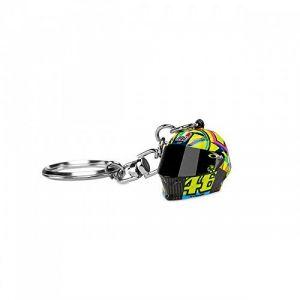 VR46 3D Helmet Porte-clé Noir/Jaune unique taille