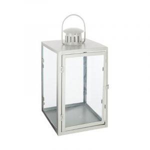 """Lanterne en Métal """"Danny"""" 25cm Gris Prix"""