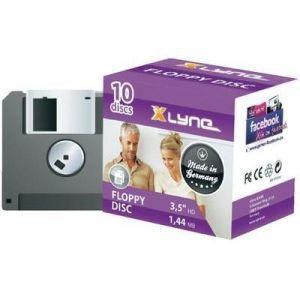 "Xlyne Pack de 10 disquettes 3,5"" 1,44 Mo"