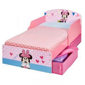 Lit enfant Minnie avec tiroirs (70 x 140 cm)