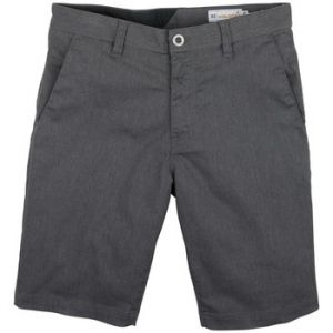 Volcom Frickin Modern Stretch Short Charcoal Heater Shorts