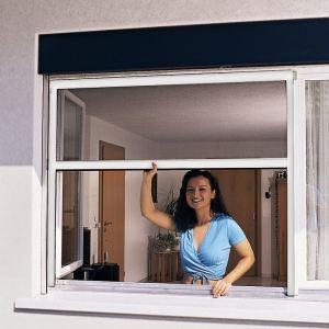 Moustiquaire fenetre alu comparer 110 offres for Fenetre 160x100