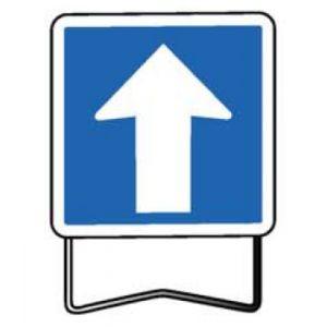 Taliaplast 523802 - Panneau signalisation indication sens unique c12 700x700 t1