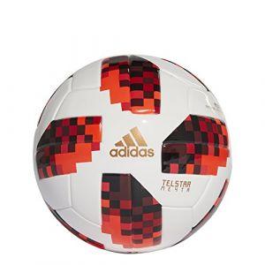 Adidas Ballon Coupe du Monde 2018 Telstar 18 Mini Mechta Pack - Blanc/Rouge/Noir