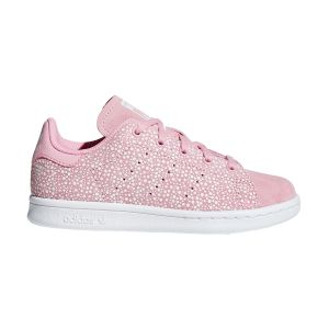 Adidas Chaussures enfant STAN SMITH C rose - Taille 28,29,30,31,32,33,34,35