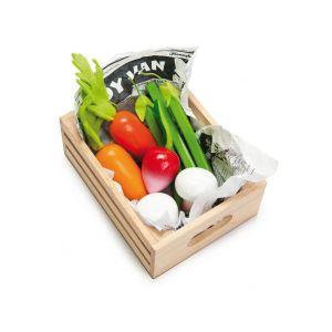 Le Toy Van TV182 - Ma récolte de légumes en bois