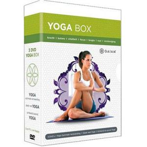 Gaiam : Yoga Box 3 DVD