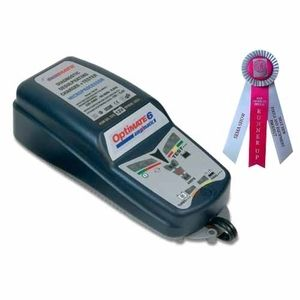 TecMate Chargeur 2 roues Optimate 6